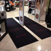 Egyedi logós lábtörlő szőnyeg