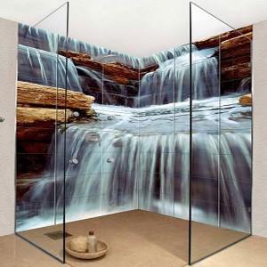 Egyedi öntapadós fotótapéta készítése saját képből, grafikából vizes helységbe is